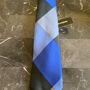 New Express Men's Tie Blue Combo